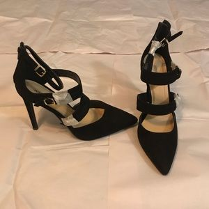 JustFab Black High Heels